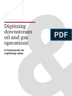 Digitizing Downstream Oil and Gas Operations