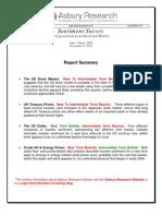 Asbury Research Sentiment Survey 2010-11-11