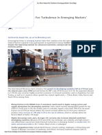 Das Warns 'Prepare For Turbulence In Emerging Markets' _ Zero Hedge