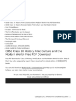History-Print Culture and the Modern World class 10 Notes Social Science