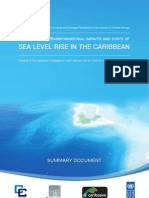 Modelling the Transformational Impacts and Cost of Sea Level Rise in the Caribbean