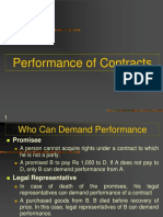 7 Performance of Contract