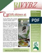 CaFAN Newsletter Agrivybz 10