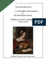 Attaingnant pdf