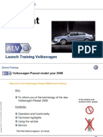 The New Passat 2006 - Launch Training Information