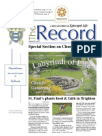 Church Gardening, The Record