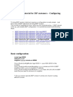 BGP Tutorial for ISP customers