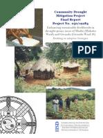 Community Drought Mitigation Project