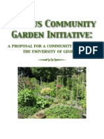 community garden at the university of georgia