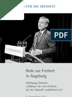 Rede zur Freiheit von Wolfgang Clement