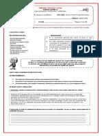 GUÍA N°2 ACTIVIDADES LENGUA CASTELLANA Y LITERATURA 11°