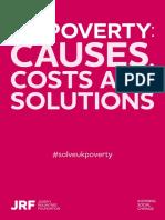 Joseph Rowntree Foundation UK Poverty Report