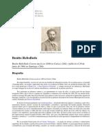 Benito Rebolledo Correa - biografía y obras