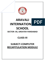 class 3 computer revision module