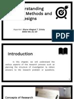 Understanding Research Methods and Designs