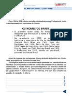 Aula 03 - Brasil Pré-Colonial (1500 - 1530)