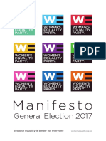 Women's Equality Party Manifesto 2017