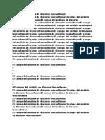 campo del análisis foucaulteano