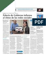 Twitter de Palacio de Gobierno