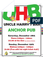 Uncle Harry's Bar 2010 2