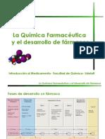 La qca farmacéutica y el desarrollo de fcos-IM 2019 Estudiantes