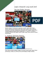 5 atlet bulu tangkis olimpiade yang masih aktif