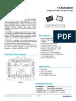 TAT8804D1H Data Sheet