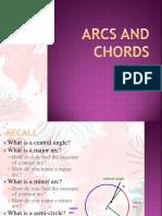 Arcs and Chords by delos santos.ppt