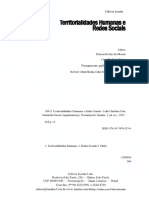 SACK, R. D. O SIGNIFICADO DE TERRITORIALIDADE. Territorialidades humanas e redes sociais.