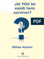 Could you be a womb twin