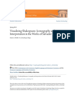 Visualizing Shakespeare_ Iconography and Interpretation in the Wo