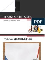TEENAGE SOCIAL ISSUES.pptx