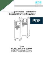 ADB [MCR5000]_Manual_Multiwire