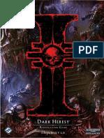 Warhammer 40k - Wh40k Universe - Dark Heresy - Core Rulebook (2E RUS)