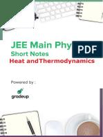 Heat and thermodynamics notes pdf