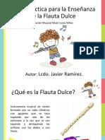 guia didactica flauta dulce