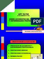 Presentación Ley 16.744