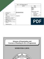 B.A. Prog. Semester - I syllabus.pdf