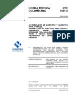NTC 4491-2, Microbiología de alimentos y de alimentos para animales. Preparación de muestras para ensayo..pdf
