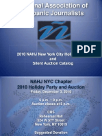 NAHJ NYC Silent Auction Catalog