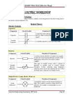 Workshop Practice (Electric Shop)