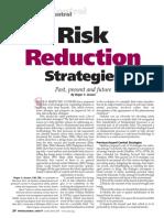 Risk Reduction Strategies