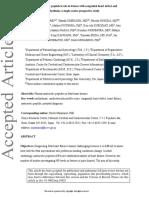 peptido natriuretico auricular  y defectos cardiacos y arritmias fetales
