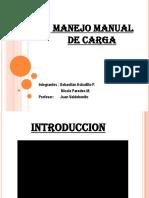 PRESENTACION MANEJO MANUAL DE CARGA 2017