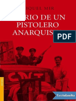 Diario de un pistolero anarquista - Miquel Mir