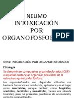 CONF - INTOXICACION POR ORGANOFOSFORADO