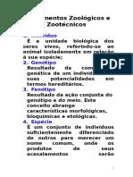 Grupamentos Zoológicos e Zootécnicos (2)