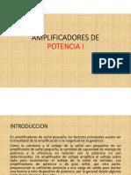 AMPLIFICADORES DE POTENCIA I