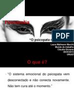 Psicopatias I