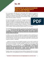 Informe 09 - Sobre la conformación de listas de elegibles Convocatoria 436 SENA